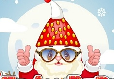 Strawberry Santa Cooking and Dress Up