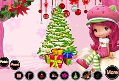 Strawberry Shortcake Christmas Decoration