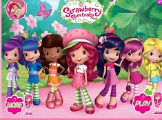Strawberry Shortcake Fashion Dress Up