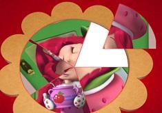 Strawberry Shortcake Round Puzzle