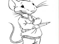 Stuart Little 2 Coloring