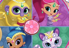 Shimmer and Shine Sparkle Sequence