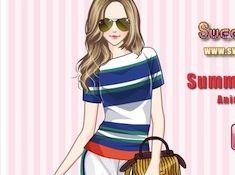 Summer Stripes Anime Version