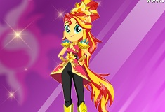 Sunset Shimmer Crystal Guardian