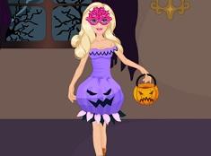 Super Barbie Halloween Dress Up