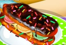 Super Ice Cream Eclairs