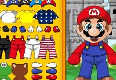 Pics photos dress up super mario mario 63 games mario 3 star