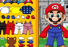 Super Mario Castle Dress Up