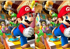 Super Mario Find the Differences
