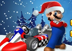 Super Mario Xmas Kart
