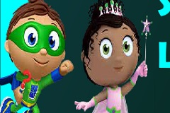 Super Why Learning Math