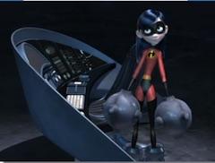 Superhero Violet Puzzle