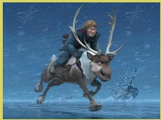 Sven and Kristoff Action Puzzle
