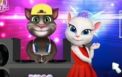 Talking Angela and Tom Disco