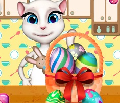 Talking Angela Easter Bascket