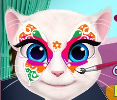 Talking Angela Face Paint