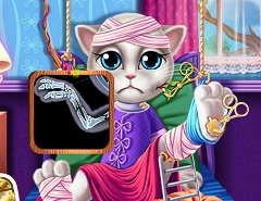 Talking Angela Hospital Recovery