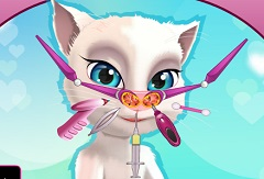 Talking Angela Nose Problem