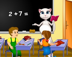 Talking Angela Pregnant Math