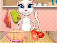 Talking Angela Tomato Pie