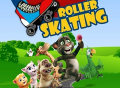 Talking Friends Roller Skate