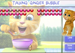 Talking Ginger Bubble