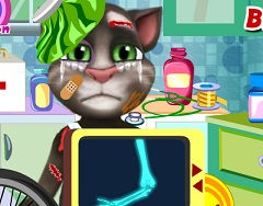 Talking Tom Bike Accident