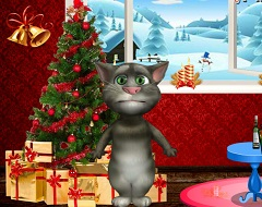 Talking Tom Christmas Decorations