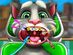 Talking Tom Dentist Visit