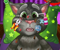 Talking Tom Injured