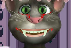 Talking Tom Vampire Dentist
