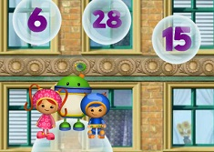 Team Umizoomi Purple Monkey Rescue