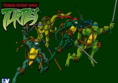 Teenage Mutant Ninja Turtles Fighting