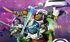 Teenage Mutant Ninja Turtles in Space