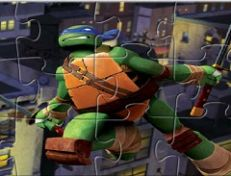 Teenage Mutant Ninja Turtles Leonardo Puzzle