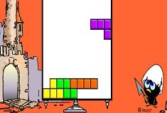 Tetris with Calimero
