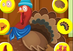Thanksgiving Dress Up Turkey