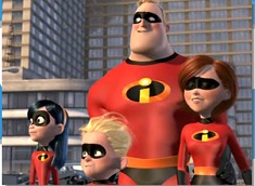 The Incredibles Family Puzzle