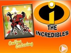 The Incredibles Online Coloring