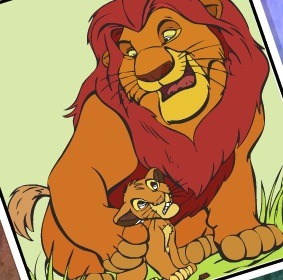 THE LION KING COLORING - LION GUARD GAMES