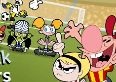 The Powerpuff Girls Free Kick All Stars