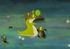The Princess and the Frog Louis Band on the Bayou