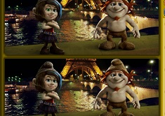 The Smurfs 2 Spot the Differences