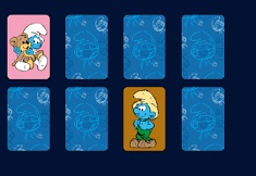 The Smurfs Matching Game