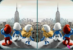 The Smurfs Spot the Differences