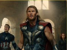 Thor and Avengers Puzzle