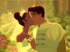 Tiana and Naveen Kissing Puzzle