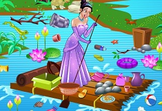 Tiana Pond Cleaning