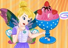 Tinkerbell Specail Strawberry Ice Cream