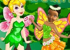 Tinkerbell vs Iridessa Fairy Battles